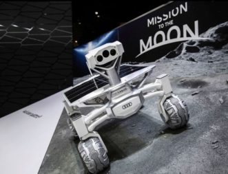 Thanks to backing from luxury carmaker Audi, PT Scientists' lunar rover design has been making the rounds at car shows and had a cameo in Alien: Covenant. Credit: Audi