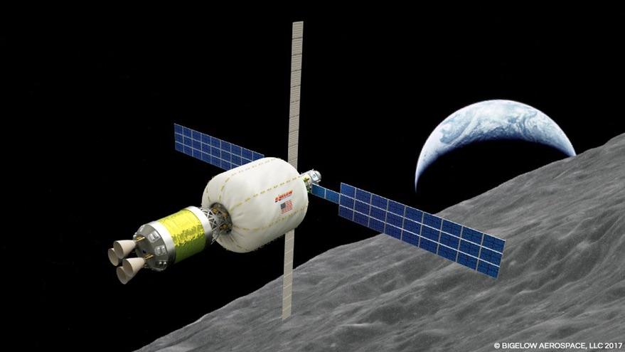 Bigelow/ULA lunar depot