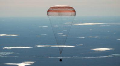 Soyuz MS-02 landing
