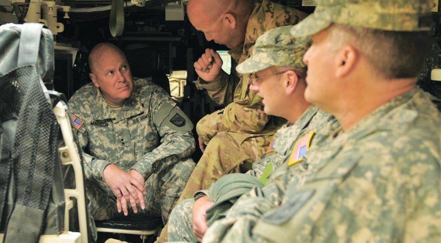Army Maj. Gen. John B. Morrison