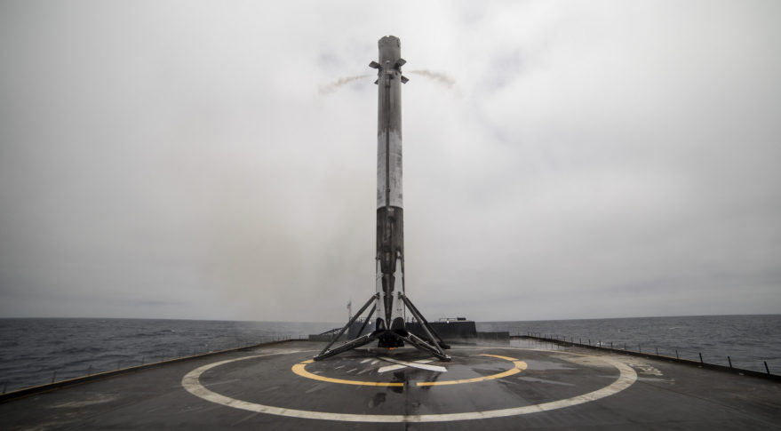 SpaceX Falcon 9 booster Iridium