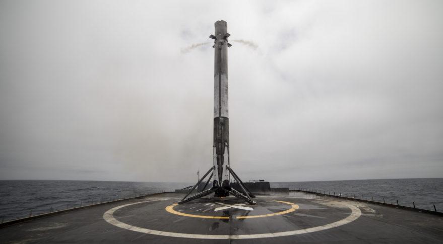 SpaceX Falcon 9 booster Iridium