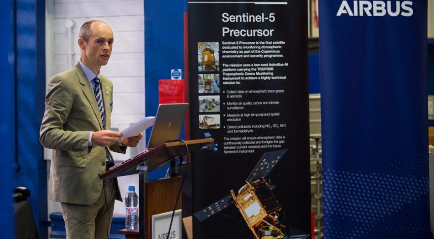 Sentinel-5P/Airbus DS Stevenage
