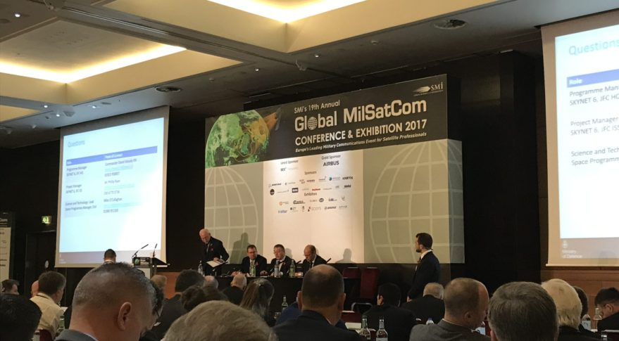 Global Milsatcom conference under way in London Nov. 7, 2017