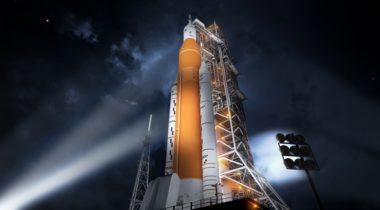 NASA SLS pad