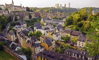 Panoramic view of Luxembourg (Luxembourg for Finance)