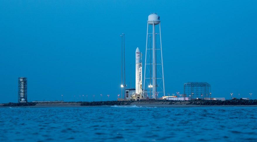 ISS resupply mission launching from Wallops Island on Saturday