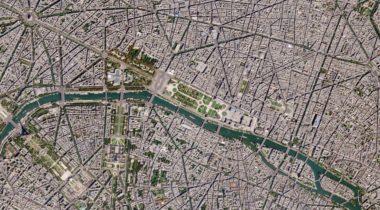 SkySat Paris image