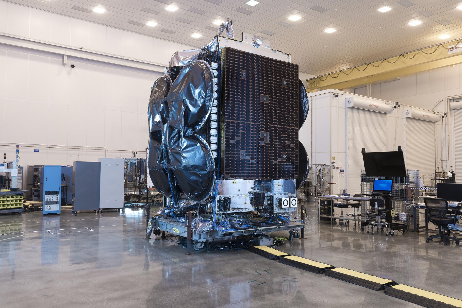 Al Yah 3 Yahsat Orbital ATK