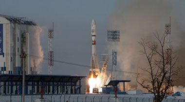 Soyuz launch from Vostochny