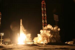 Zenit Angosat Angola Land Launch Baikonur