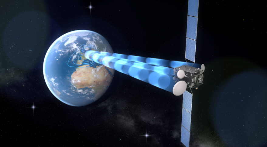 Updated Rendition Heinrich Hertz Satellite