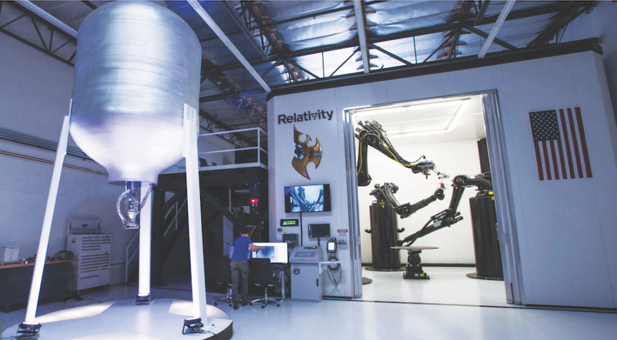 The World's Largest 3D Printer Is Printing Rockets!