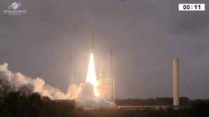 ariane 5 launches four galileo satellites in year end arianespace mission