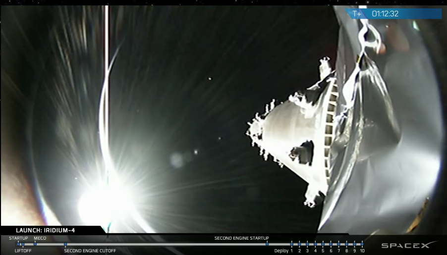 SpaceX Iridium Next