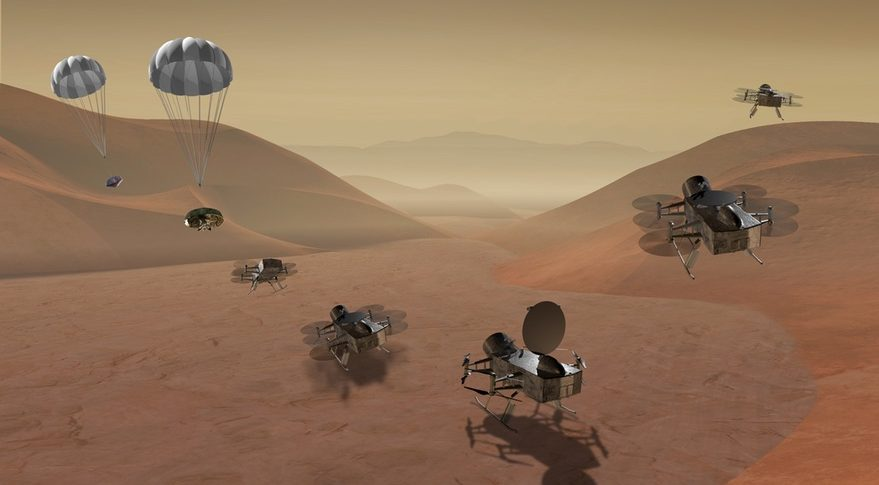 NASA considering missions to comet and Saturn's Moon Titan