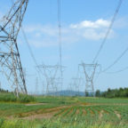 Hydro Quebec was the first utility company to install Lindsey Manufacturing's SmartLine Dynamic Line Rating technology to monitor power line usage and share data through the Iridium network. (Hydro Quebec)