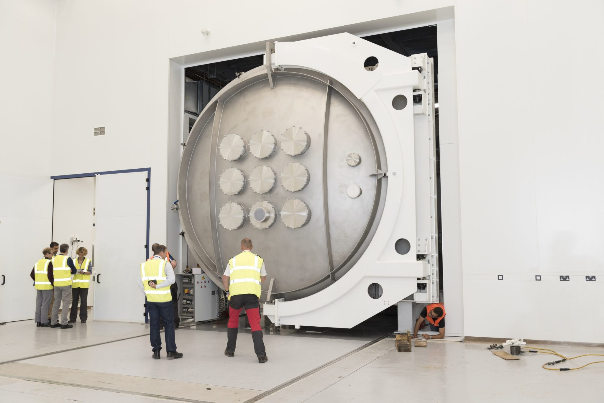 TVAC space test chamber RAL Space