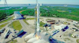 spacex launches dragon on reused falcon 9