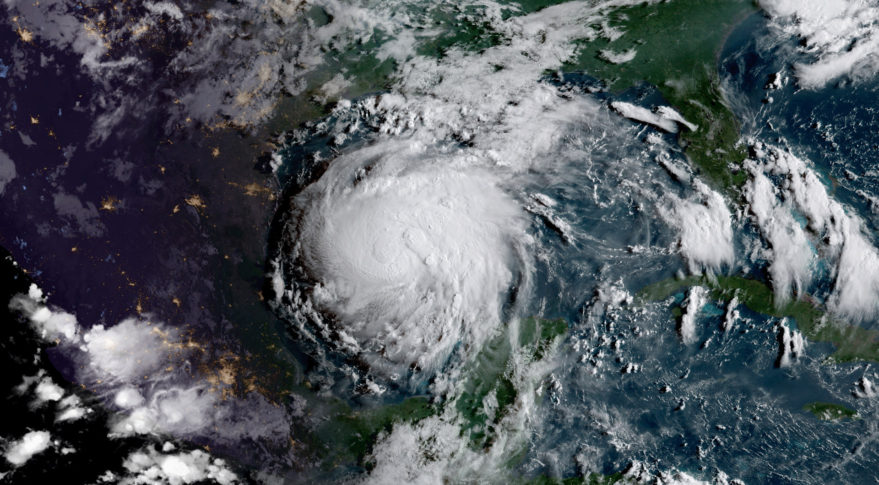 During Hurricane Harvey, which caused record flooding in Houston, emergency managers relied on data from stream gauges rebroadcast through geostationary weather satellites. This image of Hurricane Harvey was captured Aug. 16 by the Advanced Baseline Imager on GOES-16. Credit: NOAA