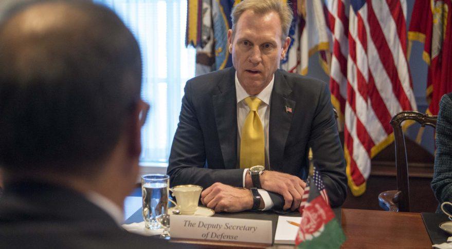 Deputy Defense Secretary Patrick Shanahan. (DoD photo)