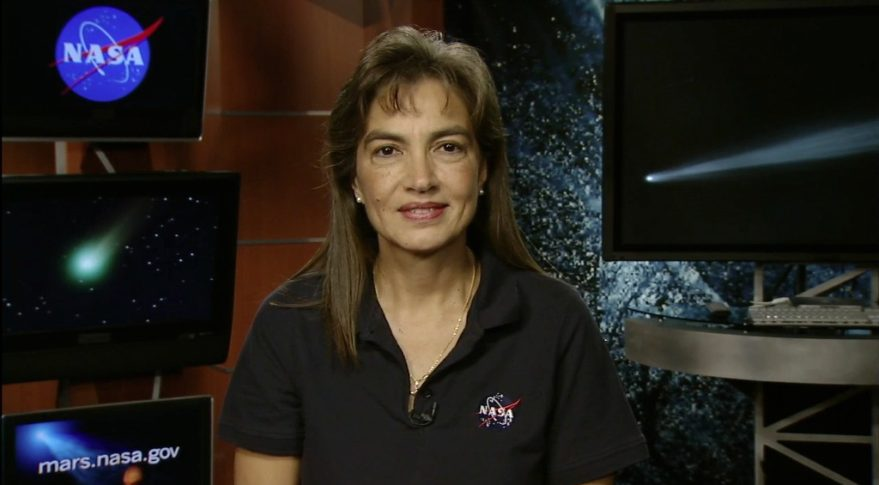 Sandra Cauffman, deputy director of NASA's Earth science division, said NASA eventually may look internationally for companies who can provide Earth science data from small satellite constellations. Credit: NASA
