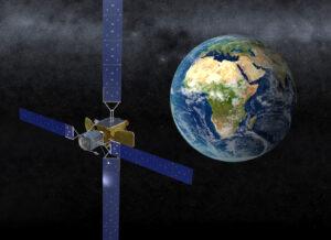 Orbital ATK's mission extension vehicle.