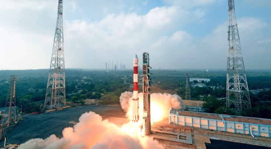 ISRO launches PSLV return to flight mission with 31 satellites -  SpaceNews com