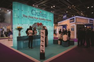 Quika Ltd. announced their free service tier at Cabsat 2018 in Dubai in mid-January. (Credit: Quika Ltd.)