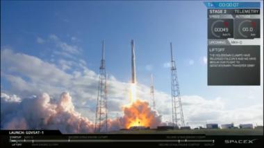 SpaceX GovSat Falcon 9 SES