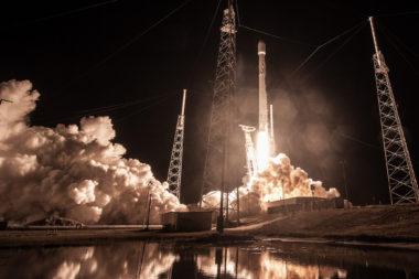 SpaceX Zuma launch 2018-01-07