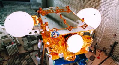 SES's AMC-9 satellite began drifting last June accompanied by still-unexplained debris. (Credit: SES)