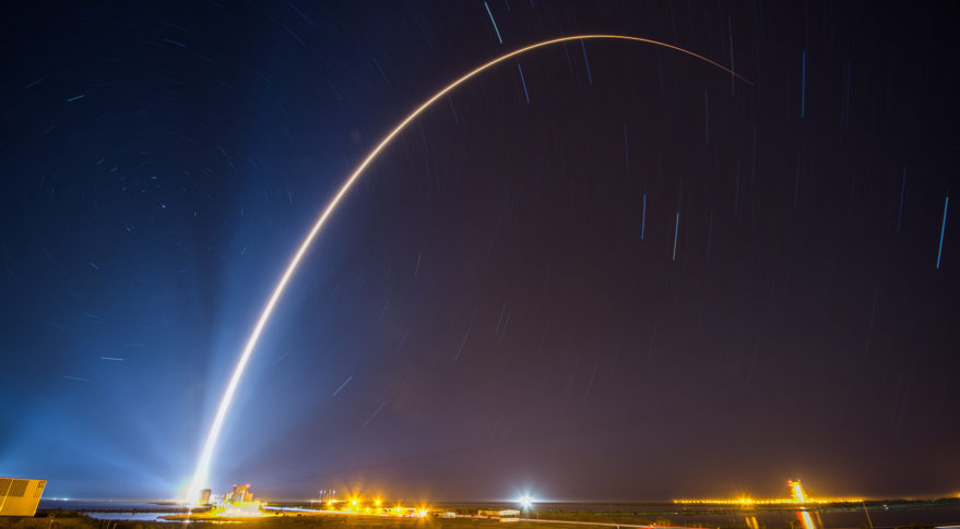 A U.S. Air Force Atlas 5 rocket lifted off Jan. 19 carrying the SBIRS GEO Flight 4 satellite.  Credit: ULA