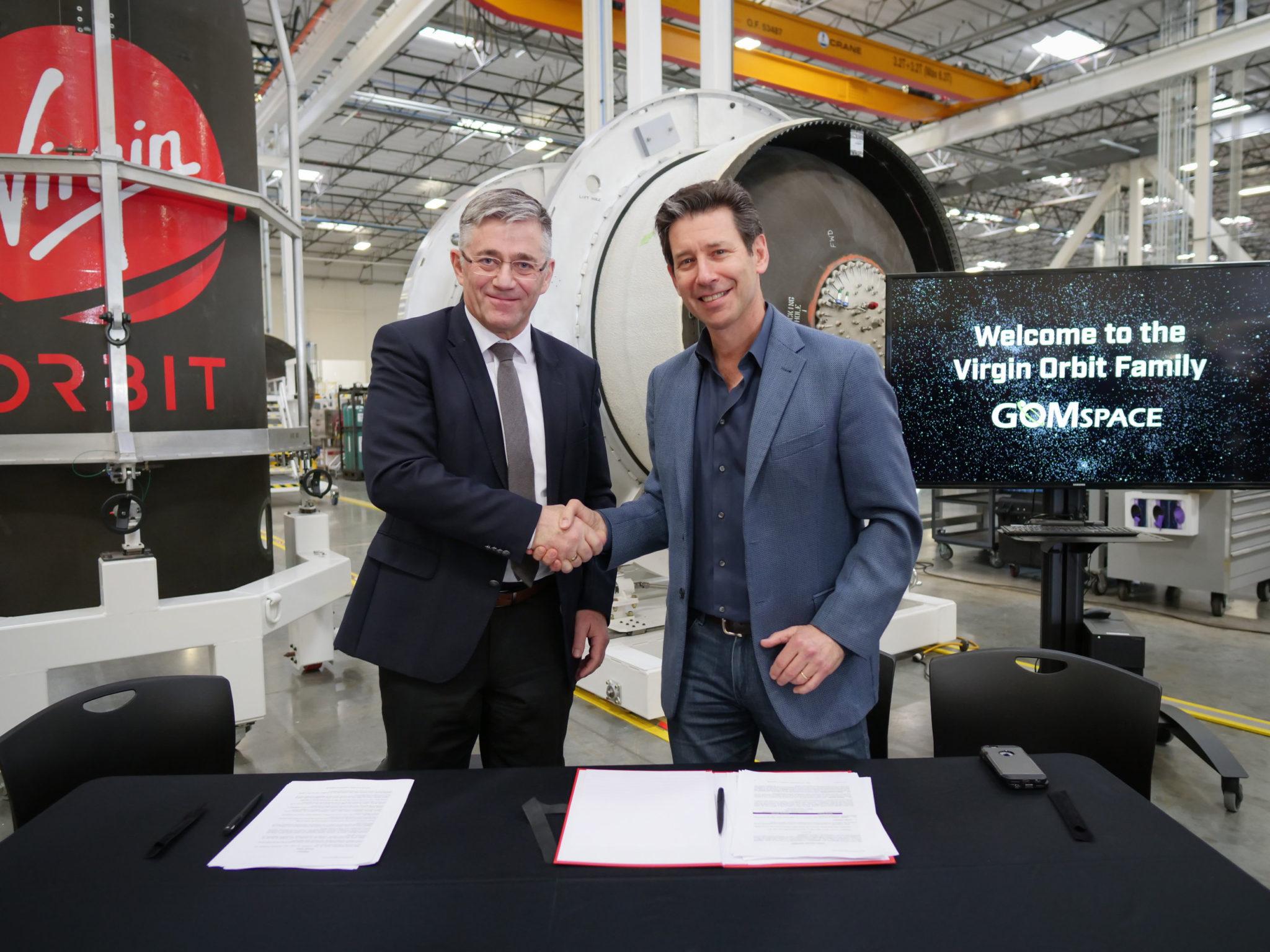 GomSpace Virgin Orbit LauncherOne
