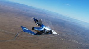spaceshiptwo performs glide flight in advance of powered tests
