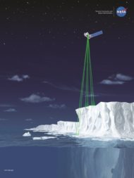 NASA's ICESat-2 satellite, due to launch in September on a United Launch Alliance Delta 2 rocket will use laser altimeters to measure ice sheet elevation. (Credit: NASA Goddard)