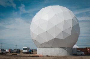 KSAT ground station Chile