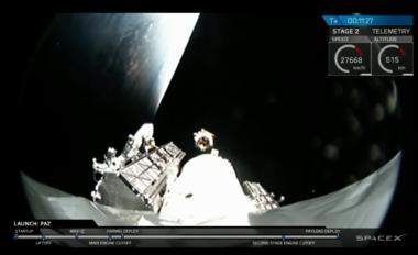 Paz Tintin Starlink launch SpaceX