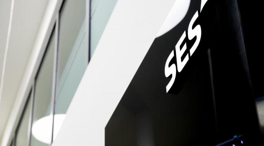 SES logo building