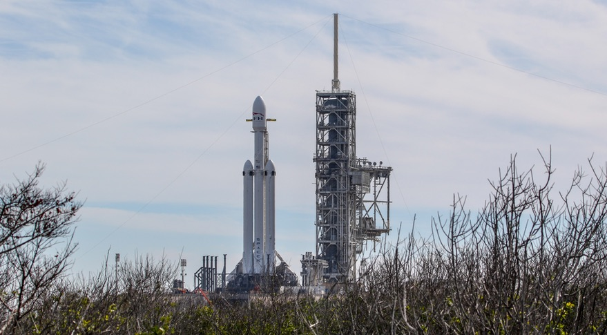 Falcon Heavy on LC-39A