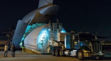 JWST shipment