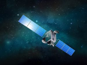 Artist's rendition of BSAT-4b. Credit: SSL/Maxar Technologies