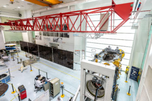 space component suppliers endangered by geo order slowdown