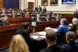 Secretary of the Air Force Heather Wilson testifies before the U.S. House of Representatives Armed Services Committee about the Air ForceÕs fiscal 2019 budget March 20, 2018, in Washington, D.C. (U.S. Air Force photo by Wayne Clark)