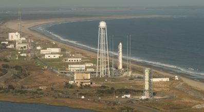 Orbital ATK launches its Antares rocket from the Mid-Atlantic Regional Spaceport co-located with NASA's Wallops Flight Facility in Virginia. Credit: NASA/Bill Ingalls