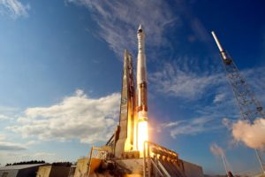 Launch of Atlas 5 SBIRS GEO-2 from Cape Canaveral AFS. Credit: United Launch Alliance