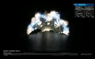 SpaceX Falcon 9 Hispasat