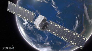 Astranis satellite illustration