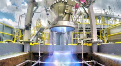 Aeon 1 engine test