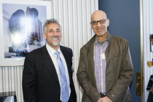 Philip Father, Scepter chief executive, and entrepreneur Rafay Khan, discuss plans for a global constellation of atmsopheric-monitoring satellites at Space Systems Loral.
